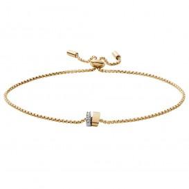 Skagen SKJ1449998 Armband Elin goud-en zilverkleurig-wit 17-20 cm