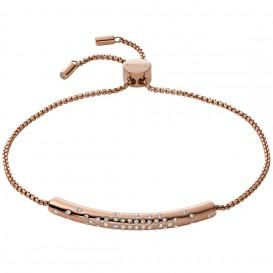 Skagen SKJ1480791 Armband Elin staal-kristal rosekleurig 21,5 cm