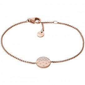 Skagen SKJ1481791 Armband Elin staal-kristal rosekleurig 16,5-18 cm