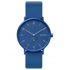 Skagen SKW6508 Horloge Aaren Kulor blauw 41 mm