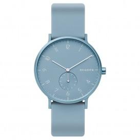 Skagen SKW6509 Horloge Aaren Kulor blauw 41 mm
