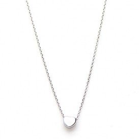 Karma T29-COL-S-38-45 Ketting Heart zilver 38-45 cm