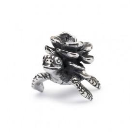 Trollbeads TAGBE-40115 Schildpadbloem zilver