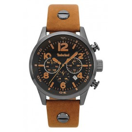 Timberland horloge Jenness Light Brown-Gunmetal 44 mm TBL.15376JSU/02