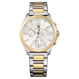 Tommy Hilfiger Horloge Kingsley goud- en zilverkleurig TH1781607