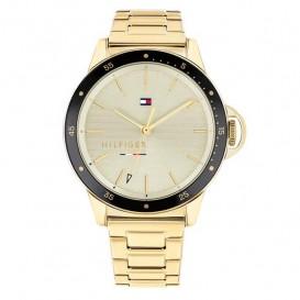 Tommy Hilfiger TH1782025 Horloge Ladies Driver goudkleurig 38 mm