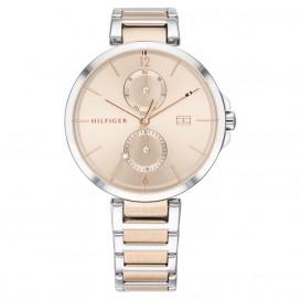 Tommy Hilfiger TH1782127 Horloge Angela staal zilver- en rosekleurig 36 mm