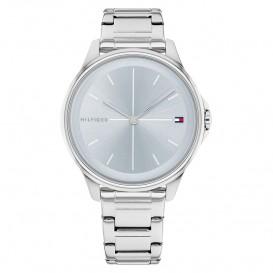 Tommy Hilfiger TH1782353 Horloge staal zilverkleurig-lichtblauw 35 mm