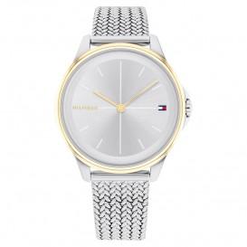 Tommy Hilfiger TH1782357 Horloge staal zilver-en goudkleurig 35 mm
