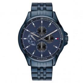 Tommy Hilfiger TH1791618 Horloge Shawn donkerblauw 44 mm-1