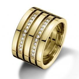 Tommy Hilfiger TJ2701023 Ring staal zilverkleurig Maat 58