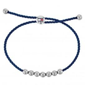 Tommy Hilfiger TJ2780003 Armband Friendship zilverkleurig-blauw