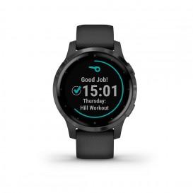 Garmin 010-02172-12 Vivoactive 4S GPS Smartwatch PVD Black Slate-3