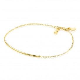 Zinzi Gold Armband goud met boogje18-20 cm ZGA183