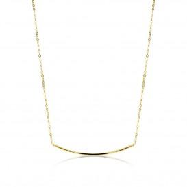 Zinzi Gold Ketting goud met boogje 42-45 cm ZGC183