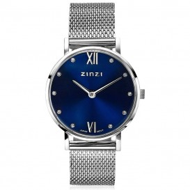 Zinzi ZIW630M Horloge Lady + gratis armband 26 mm zilverkleurig
