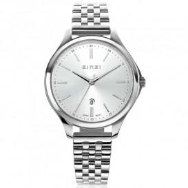 Zinzi ZIW1002 Horloge Classy + gratis armband zilverkleurig 34 mm