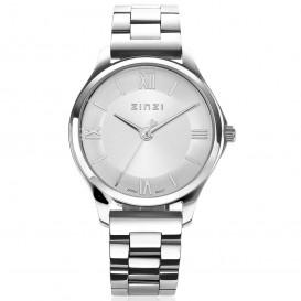 Zinzi ZIW1202 Horloge Classy Mini + gratis armband zilverkleurig 30 mm