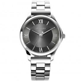 Zinzi ZIW1224 Horloge Classy Mini + gratis armband zilverkleurig-grijs 30 mm