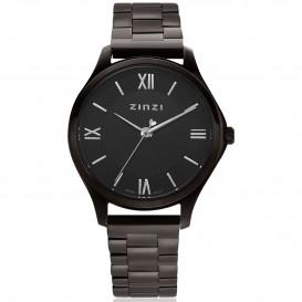 Zinzi ZIW1237 Horloge Classy Mini + gratis armband zwart 30 mm