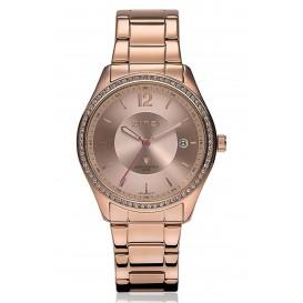 Zinzi horloge + gratis armband rosékleurig ZIW302