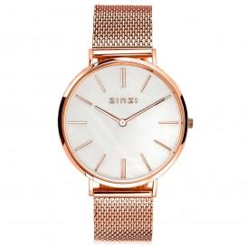 Zinzi Horloge Retro rosékleurig + Gratis armband 38 mm ZIW418M