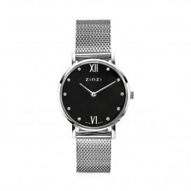 Zinzi ZIW629M Horloge Lady + gratis armband 26 mm zilverkleurig