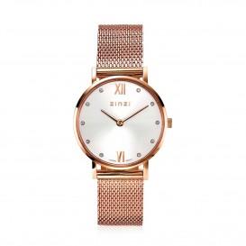 Zinzi ZIW631M Horloge Lady + gratis armband 26 mm rosekleurig