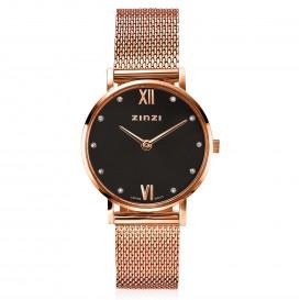 Zinzi ZIW632M Horloge Lady + gratis armband 26 mm rosekleurig
