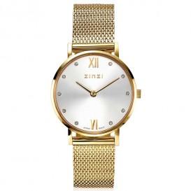 Zinzi ZIW633M Horloge Lady + gratis armband 26 mm goudkleurig