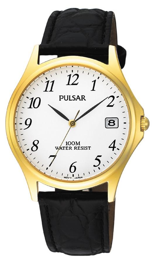 Pulsar Herenhorloge goudkleurig PXH566X1