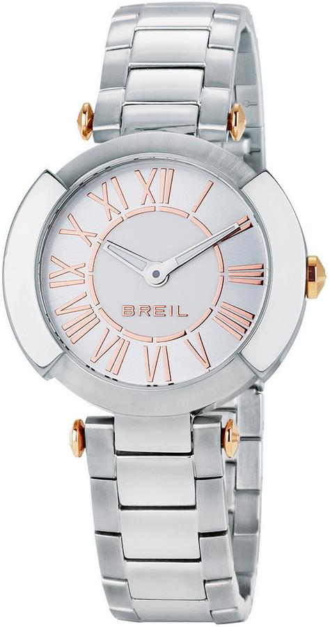 Breil Dameshorloge 'Flaire' Zilver en rosékleurig TW1443