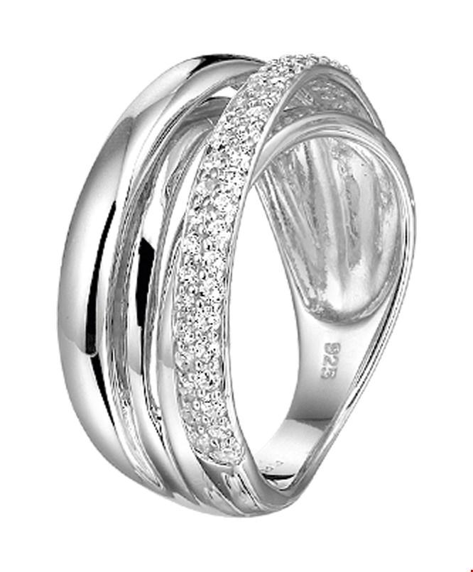 TFT Ring Zirkonia Zilver Gerhodineerd