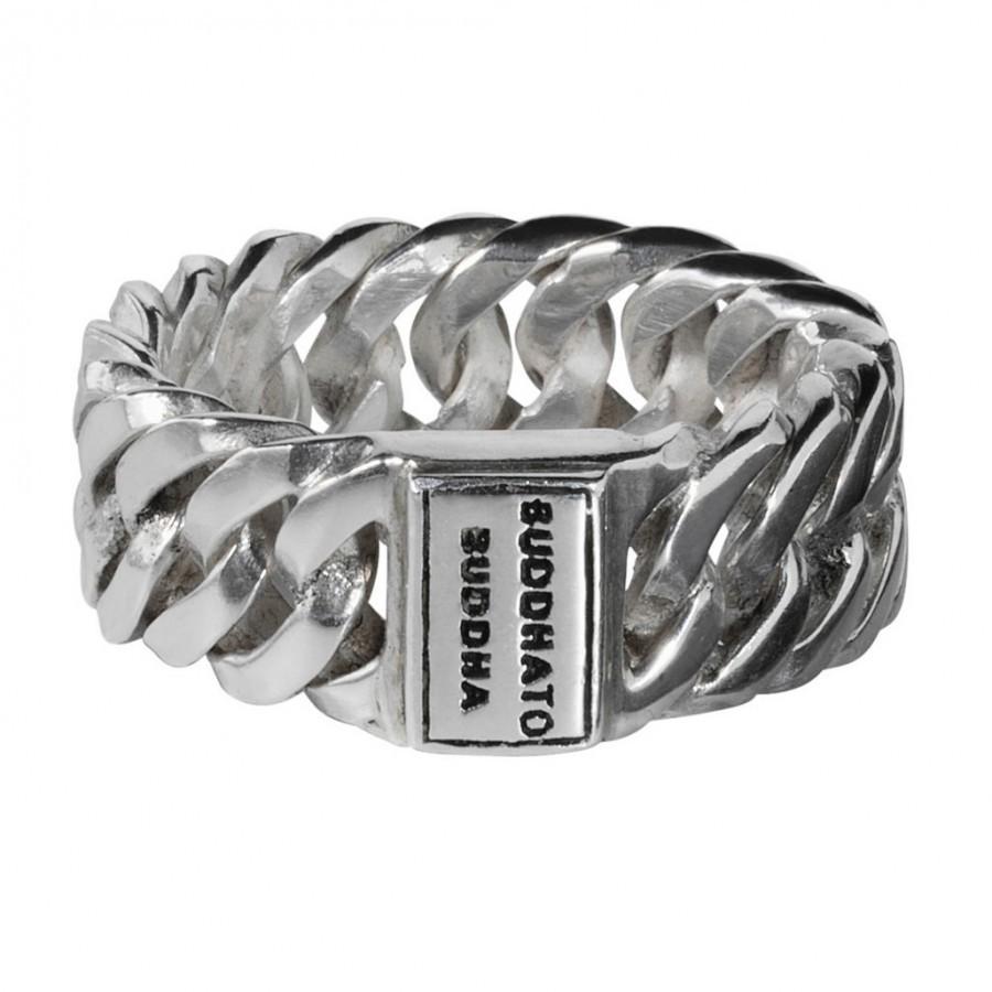 Buddha to Buddha 541 Ring Chain Small zilver Maat 20