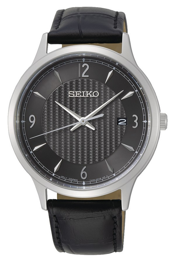 Seiko herenhorloge Quartz Analoog 40,4 mm SGEH85P1