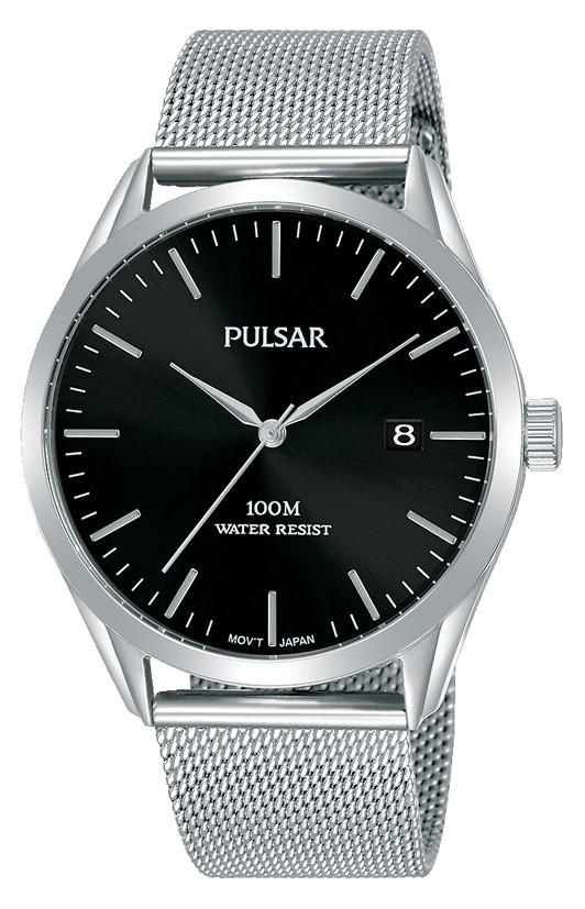 Pulsar Herenhorloge Meshband PS9571X1