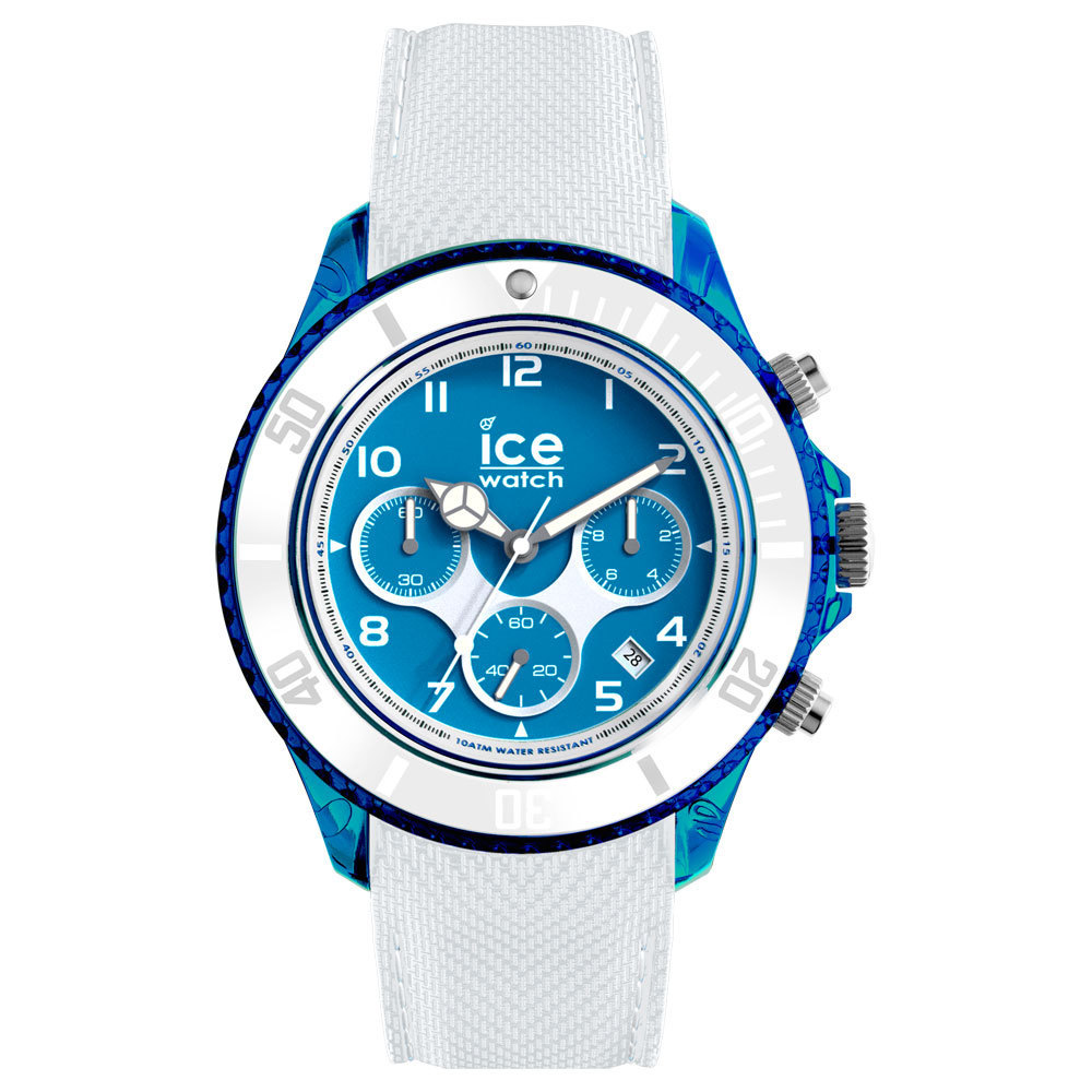 Ice-Watch IW014224 ICE Dune - Silicone - White - Exrta Large horloge