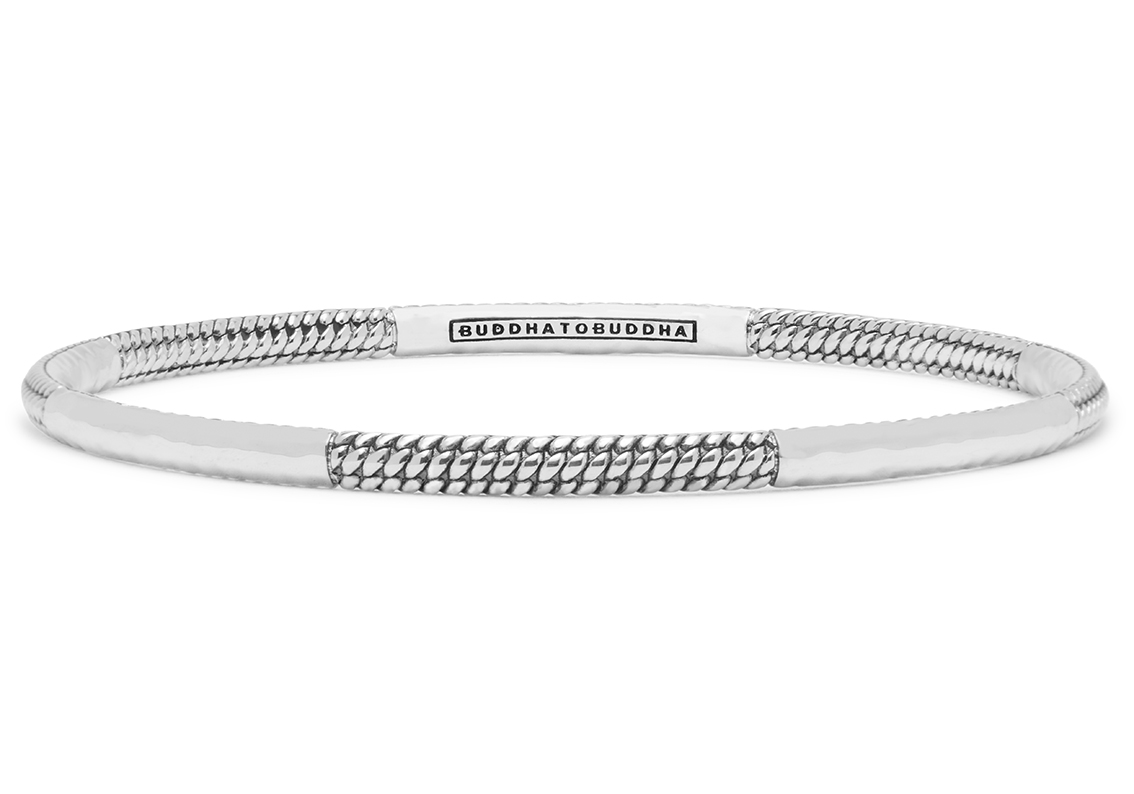 Buddha to Buddha 304 Armband Dunia Ben Alternate zilver Maat M (17-19 cm)