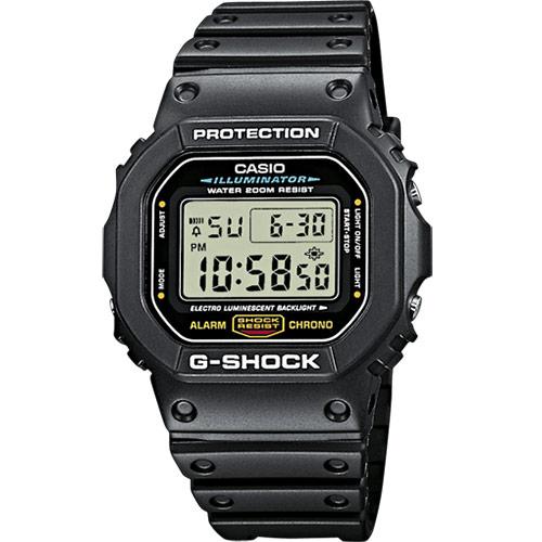 Casio G Shock Timecatcher DW 5600E 1VER 43 mm