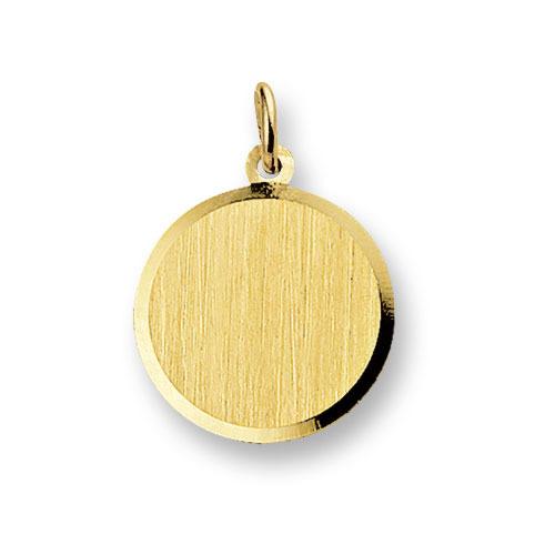 Huiscollectie 4006187 Gouden graveerplaat rond