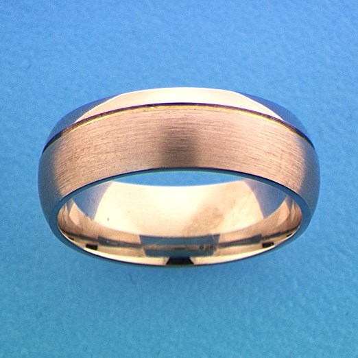 TFT Ring A112 - 7 Mm - Zonder Cz Zilver Gerhodineerd