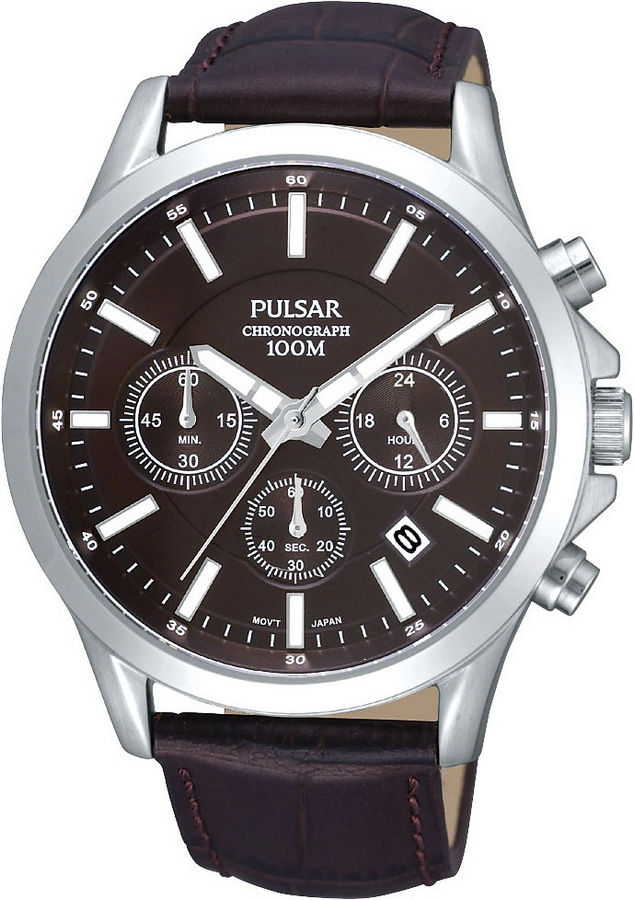 Pulsar chronograaf horloge