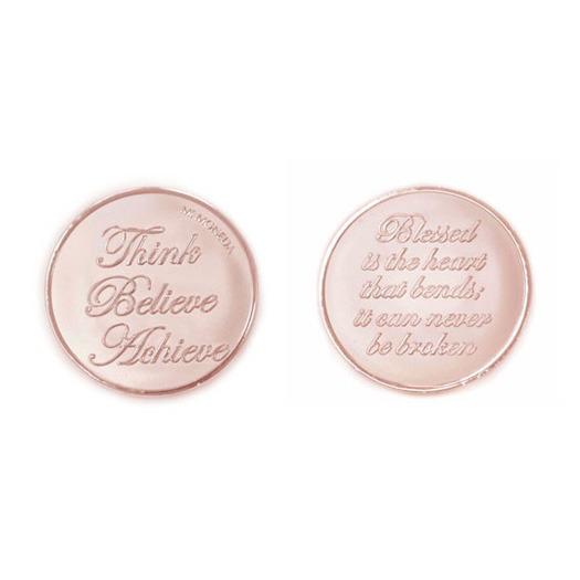 Mi Moneda Munt Shiny Rosé Think-Heart Small