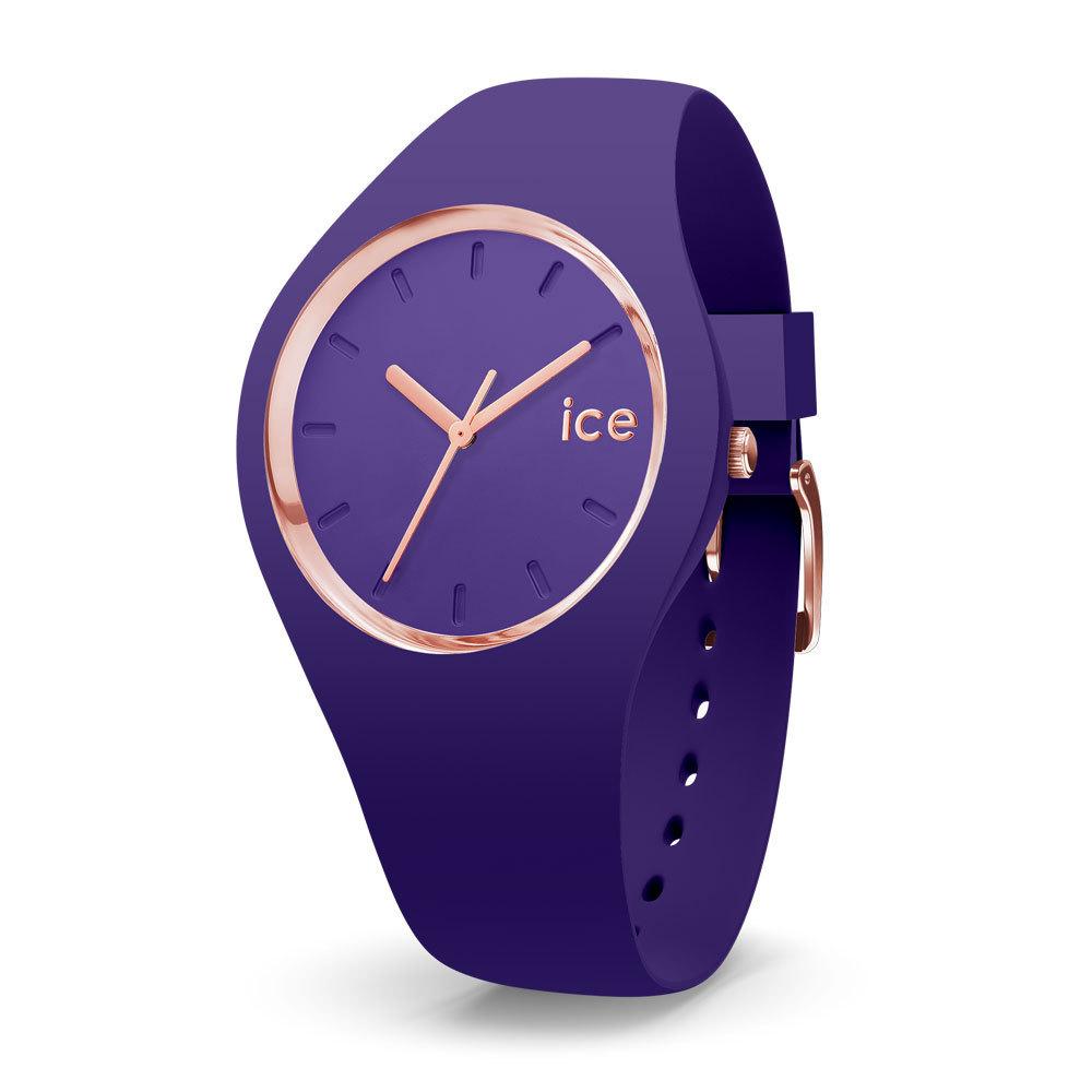 Ice-Watch IW015696 Ice Glam Colour Violet Medium 40 mm horloge