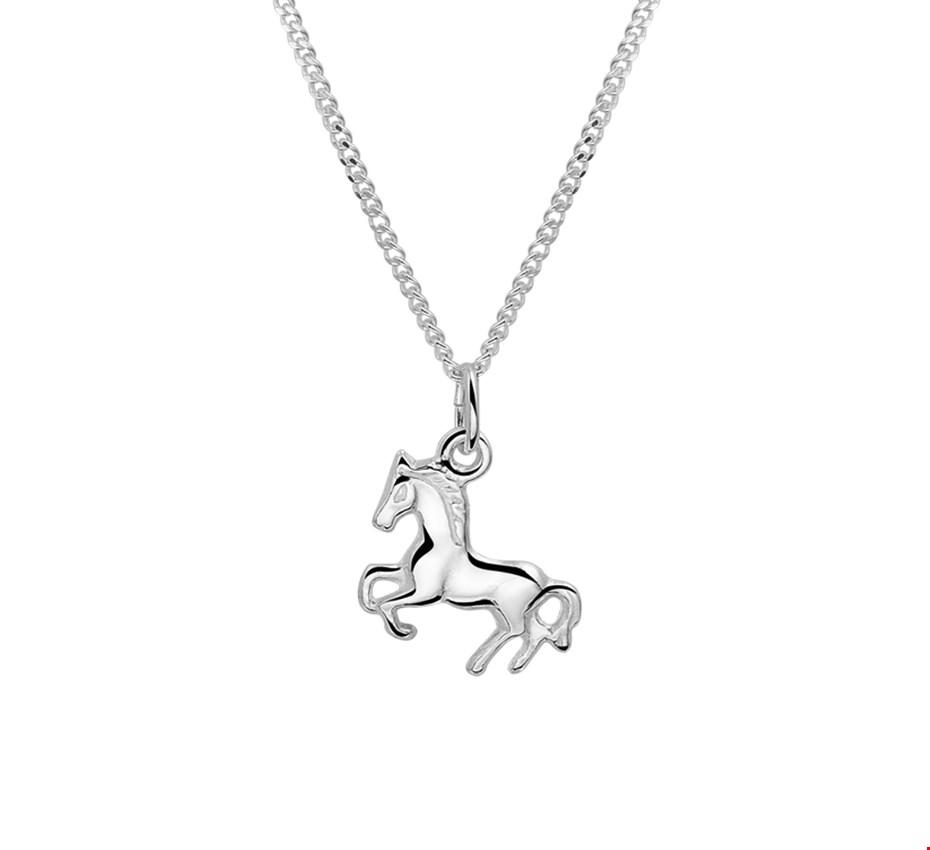 TFT Zilveren Ketting Paard 1,4 mm 36 + 4 cm