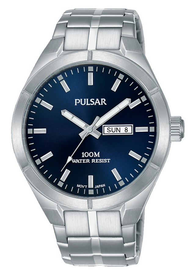 Pulsar herenhorloge Quartz Analoog 41 mm PJ6099X1