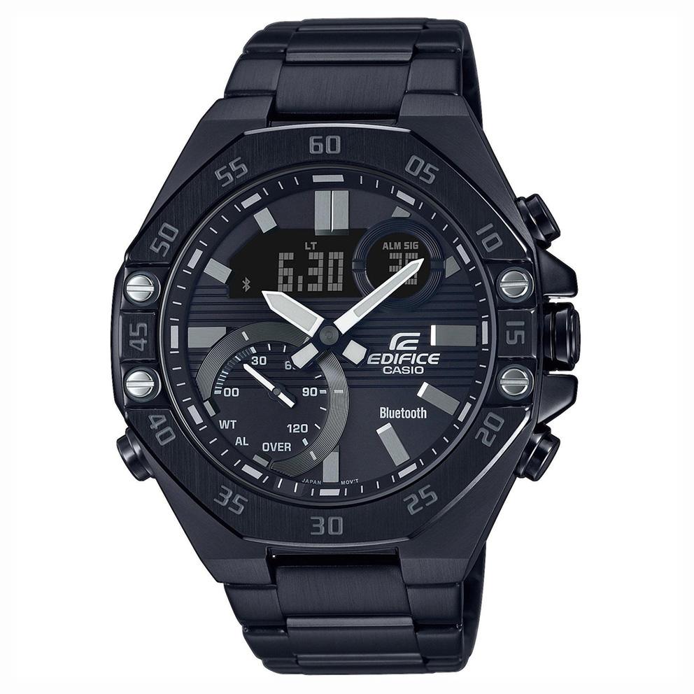 Casio Edifice horloge ECB 10DC 1AEF Chronograaf Bluetooth Smartphonetime 51 mm