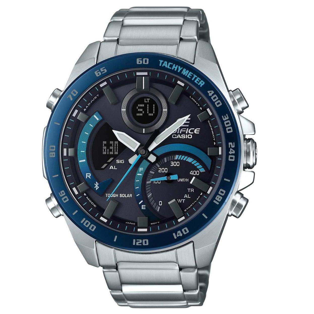 Casio Edifice ECB 900DB 1BER Chronograaf Bluetooth Solar Premium 51,5 mm