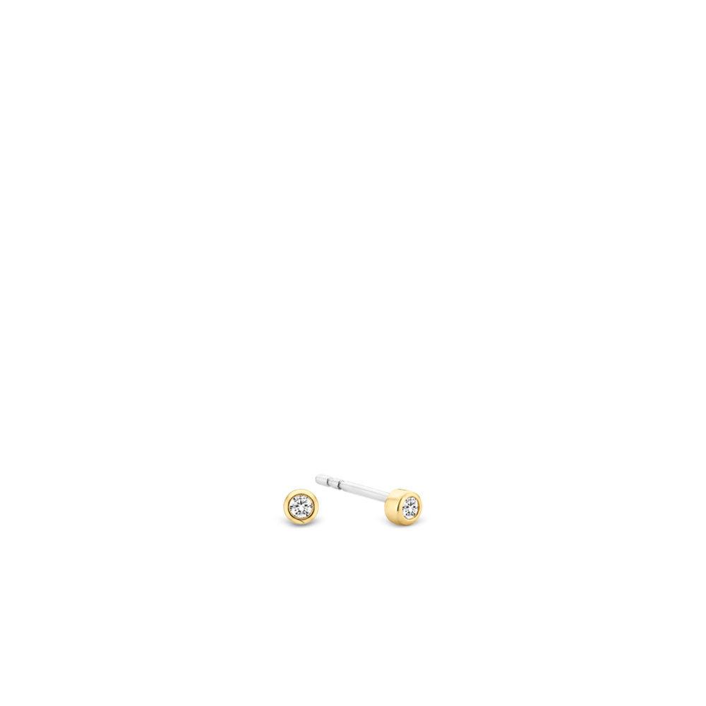 Ti Sento - Milano 7783ZY Oorbellen zilver geelverguld
