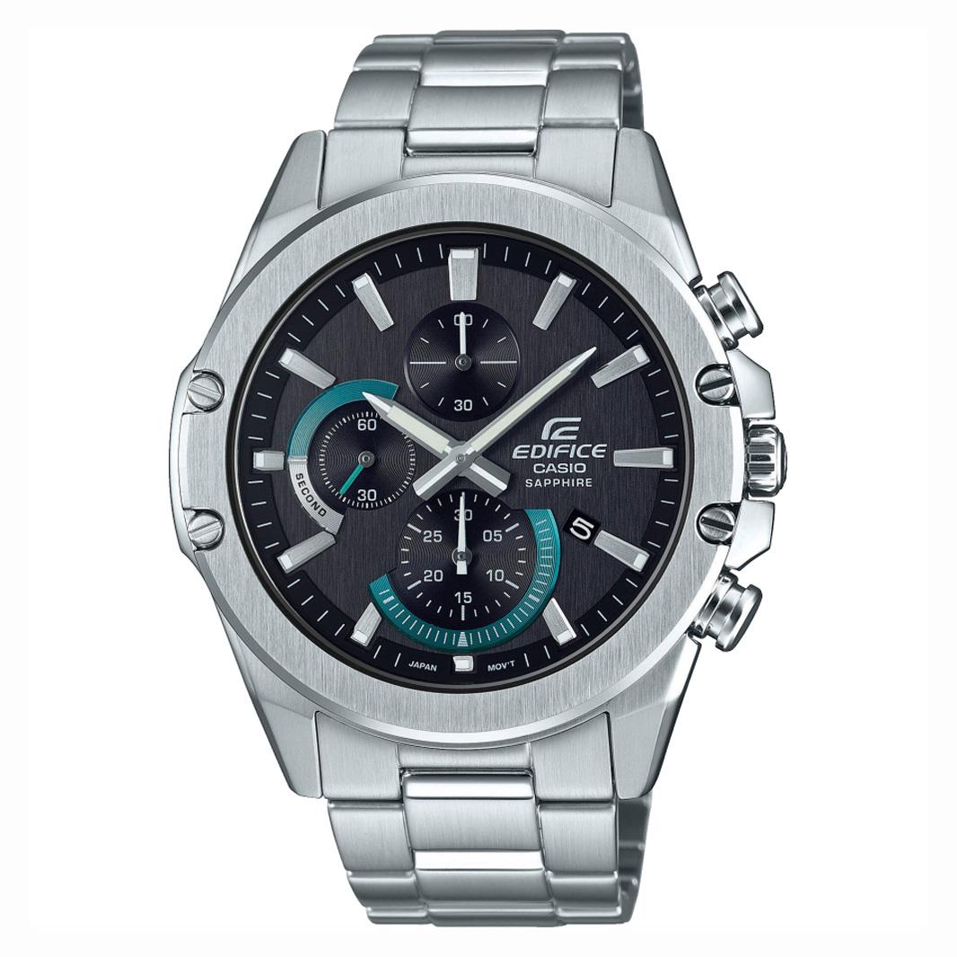 Casio Edifice EFR S567D 1AVUEF Chronograaf saffierglas 45,6 mm
